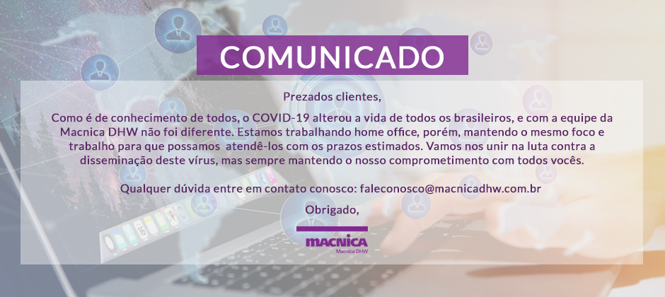Comunicado COVID-19, homeoffice